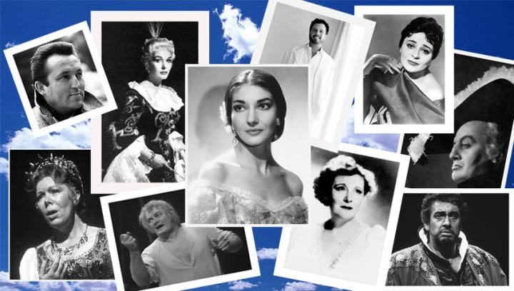 LETTERBOX COLLAGE OF SINGERS